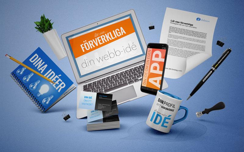 Förverkliga din webb-idé hos Daboon